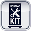 Montage-Kit Expolinc Pop Up Magnetic 4x3 gerade